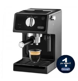 Кофеварка De`Longhi ECP 31.21 BK + пачка кофе Blasercafe в подарок!