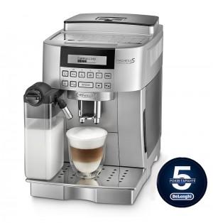 Кофемашина De`Longhi ECAM 22.360.S + гриль DeLonghi SW 12 AC.S в подарок!