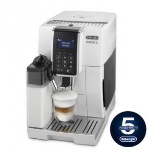 Кофемашина De`Longhi Dinamica Ecam 350.75.W + пачка кофе Blasercafe в подарок!