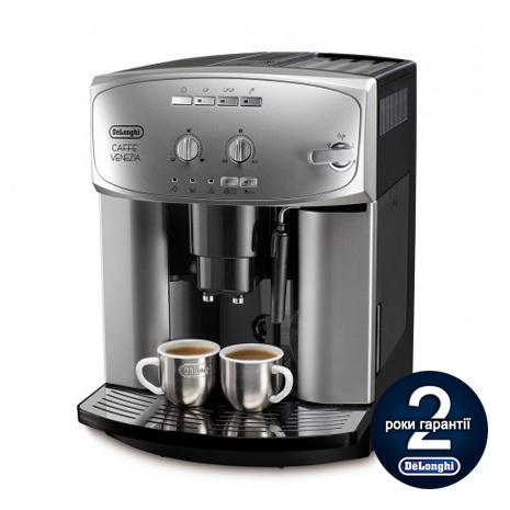 Кофемашина De`Longhi ESAM 2200.S + пачка кофе Blasercafe!