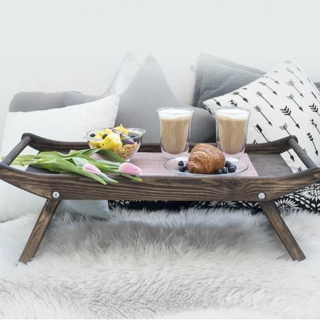 Набор для завтрака деревянный De`Longhi