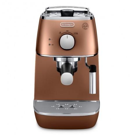 Комплект De`Longhi Distinta Copper (кофеварка + чайник + тостер) и пачка кофе Blasercafe в подарок!