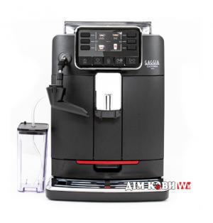 Кофеварка GAGGIA CADORNA MILK BLACK + фирменный сервиз Gaggia для эспрессо на 6 персон и Keep Cup (120мл) в подарок!