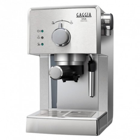 Кофеварка GAGGIA VIVA DELUXE BLACK + пачка кофе Blasercafe в подарок!