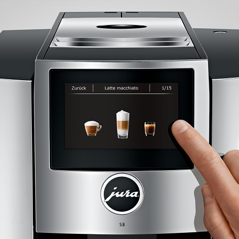 Кофемашина Jura S8 Chrom