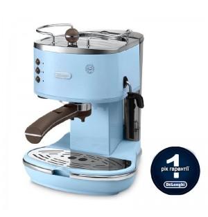 Кофеварка De`Longhi Icona Vintage ECOV311.AZ + пачка кофе Blasercafe в подарок!