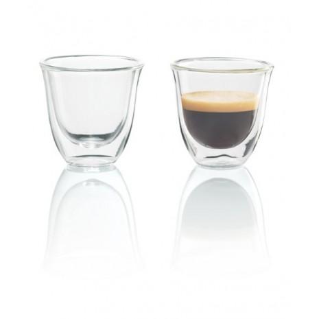 Набор из 2-х стаканов для эспрессо De`Longhi (60 мл)
