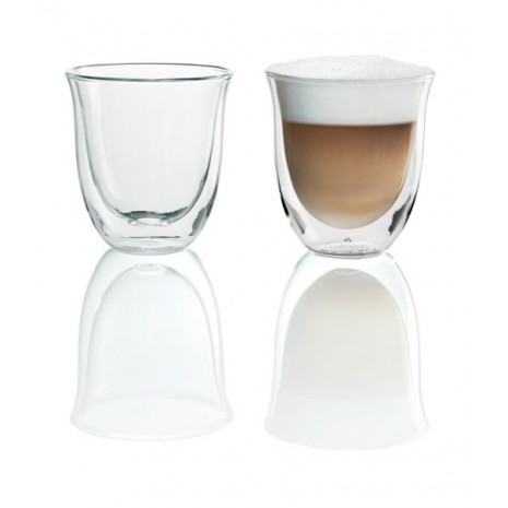 Набор из 2-х стаканов для капучино De`Longhi (190 мл)