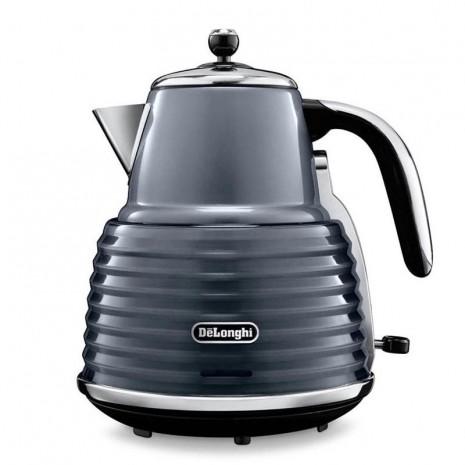Комплект De`Longhi Scultura Grey (кофеварка + чайник + тостер) и пачка кофе Blasercafe в подарок!
