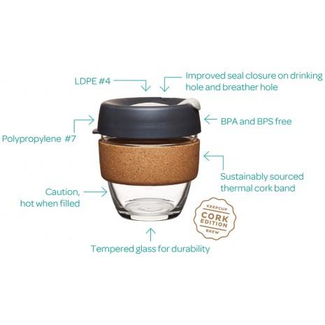 Keep Cup Brew Cork Cinnamon S (227 мл)