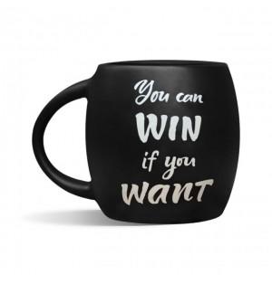 "Чашка подарочная Orner ""You can win"" (450мл)"