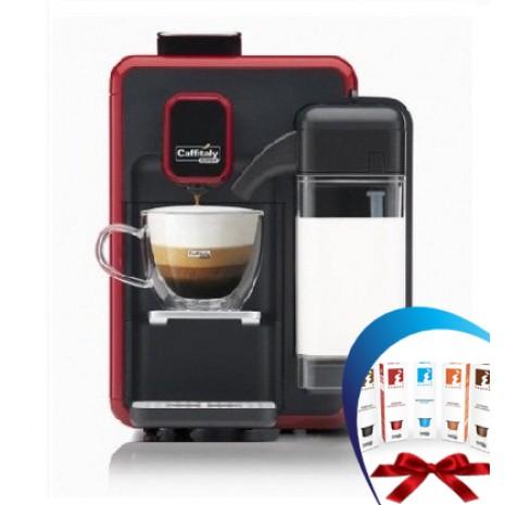 Кофеварка Сaffitaly Bianca S22 red + 50 капсул кофе Blasercafe в подарок!