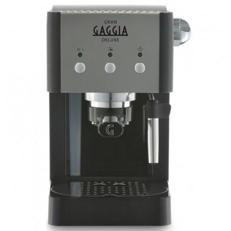 Кофеварка Gaggia GranGaggia De Luxe Black + пачка кофе Blasercafe в подарок!