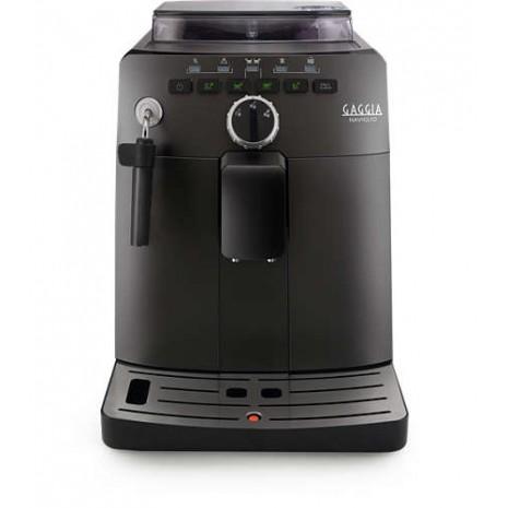 Кофемашина Gaggia Naviglio Black + фирменный сервиз Gaggia для эспрессо на 6 персон + пачка кофе Blasercafe в подарок!
