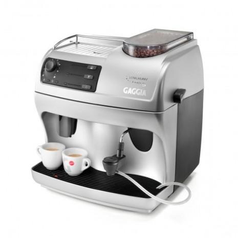 Кофемашина Gaggia Syncrony Logic RS + фирменный сервиз Gaggia для эспрессо на 6 персон + пачка кофе Blasercafe в подарок!