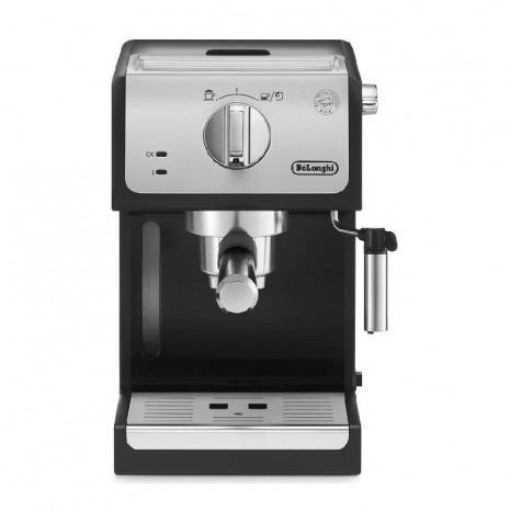 Кофеварка De`Longhi ECP 33.21 BK.Silver + пачка кофе Blasercafe в подарок!