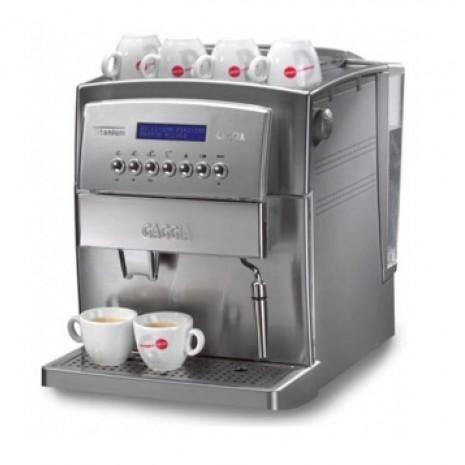 Кофемашина Gaggia Titanium + сервиз для эспрессо Gaggia на 6 персон и пачка кофе Blasercafe в подарок!