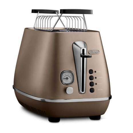 Комплект De`Longhi Distinta Bronze (кофеварка + чайник + тостер) и пачка кофе Blasercafe в подарок!
