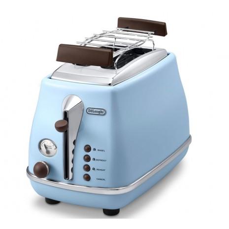 Комплект De`Longhi Icona Vintage Anita (кофеварка + чайник + тостер) и пачка кофе Blasercafe в подарок!
