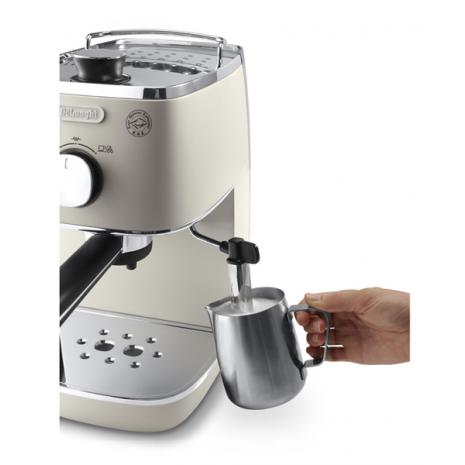 Кофеварка De`Longhi Distinta ECI 341.BW  + 3 пачки кофе Blasercafe в подарок!