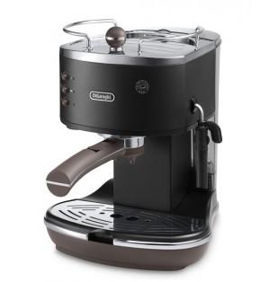 Кофеварка De`Longhi Icona Vintage ECOV311.BK + пачка кофе Blasercafe в подарок!