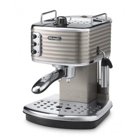 Комплект De`Longhi Scultura Beige (кофеварка + чайник + тостер) и пачка кофе Blasercafe в подарок!