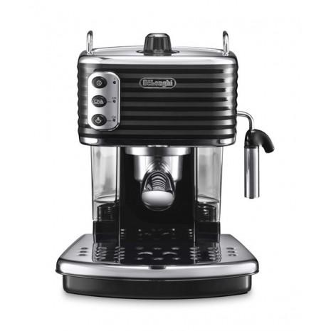 Кофеварка De`Longhi Scultura ECZ 351.BK + пачка кофе Blasercafe в подарок!