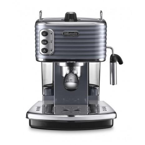 Комплект De`Longhi Scultura Grey (кофеварка + чайник + тостер) и 3 пачки кофе Blasercafe в подарок!