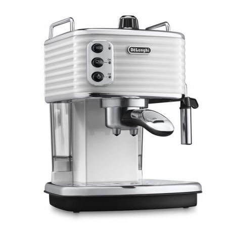 Кофеварка De`Longhi Scultura ECZ 351.W + пачка кофе Blasercafe в подарок!
