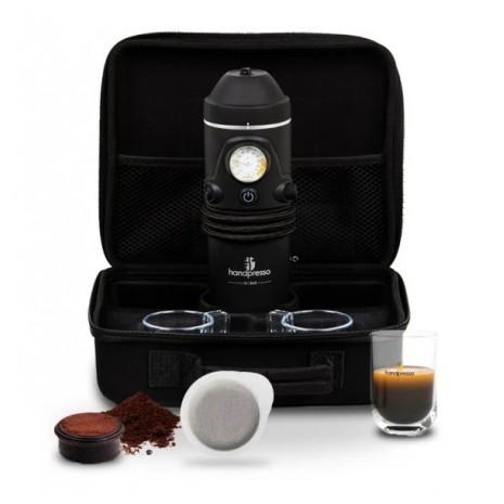 Кейс с автомобильной кофеваркой и аксессуарами Handpresso Auto Set