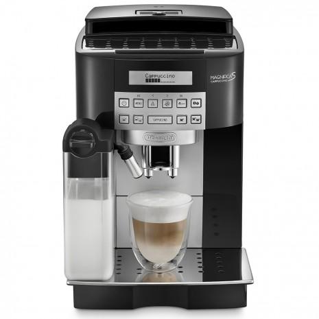 Кофемашина De`Longhi ECAM 22.360.B + гриль DeLonghi SW 12 AC.S + пачка кофе Blasercafe в подарок!