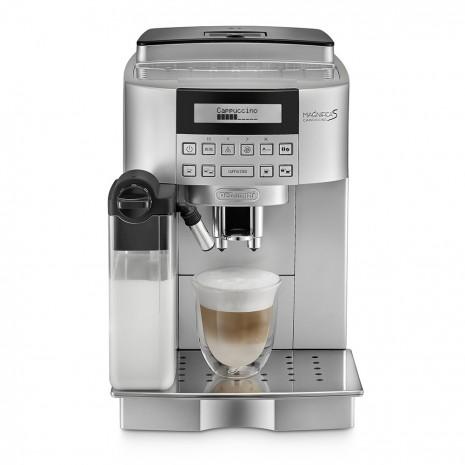 Кофемашина De`Longhi ECAM 22.360.S + гриль DeLonghi SW 12 AC.S + пачка кофе Blasercafe в подарок!