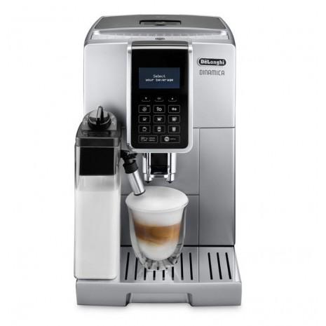 Кофемашина De`Longhi Dinamica Ecam 350.75.S + пачка кофе Blasercafe + кухонный комбайн KHH326WH в подарок!
