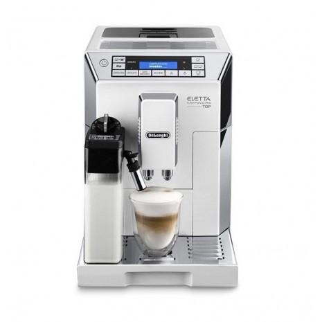 Кофемашина De`Longhi ECAM 45.760.W Eletta Cappuccino Top + пачка кофе Blasercafe в подарок!