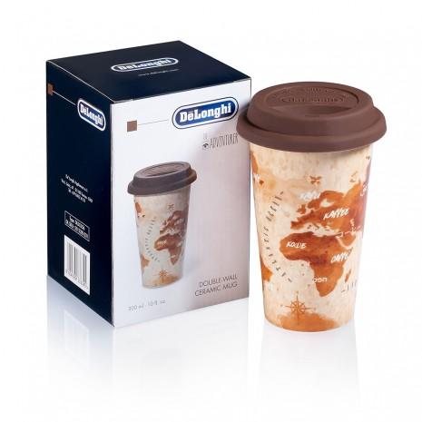 Кофемашина De`Longhi ECAM 21.117.W + набор из двух керамических чашек для путешествий THERMALMUG в подарок!