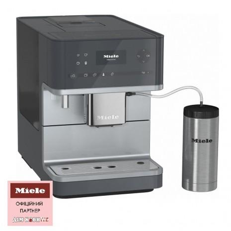 Кофемашина MIELE CM 6350 Silver + пачка кофе в подарок!