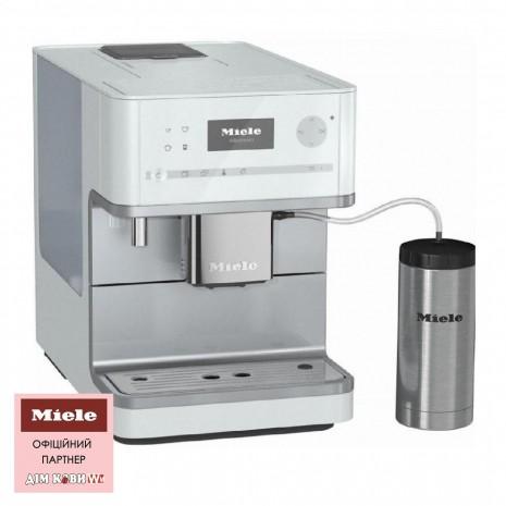 Кофемашина MIELE CM 6350 White + пачка кофе в подарок!