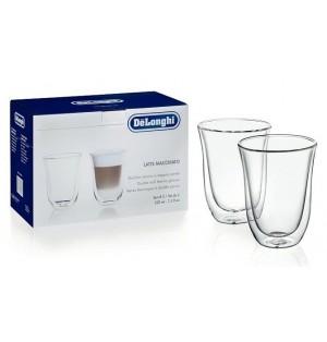 Набор из 2-х стаканов для латте De`Longhi (220 мл)